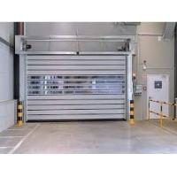 Quality Industrial Heavy Duty High Speed Roll Up Doors  0.75kw - 5.50kw Motor Power for sale