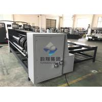 Buy cheap Semi Auto Flat Bed Die Cutting Machine RS4 Rotary Slotter Machine With Chain from wholesalers