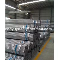 Quality HENGXING GROUP Building material/ Hollow tubes / Fence thin wall Q235 Hot dip zinc coated GI galvanized for sale