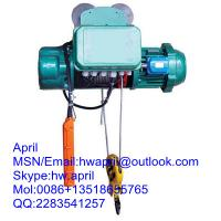 Quality MD1 series wire rope electric hoist for sale