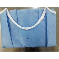 Quality EO Sterile Disposable Sterile Gowns PP+PE+PP Material Weight 60-70 Gsm for sale
