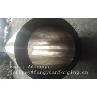 Buy St52-3 forged steel rings Hot Rolled Sleeve Forged Cylinder 3000mm length at wholesale prices