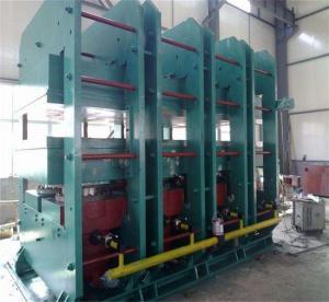 China Conveyor Belt Clamping Force 2200T Vulcanizing Press Machine on sale