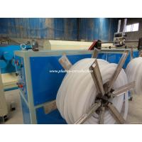 Quality PVC PP PE Single Wall Corrugated Plastic Pipe Production Line Extrusion Machinery for sale