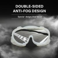 Buy cheap Laboratory Reusable Safety Goggles , Medical Silicone Anti Fog Safety Goggles from wholesalers