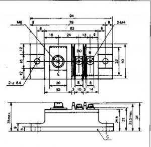 Quality IGBT Power Module ETN36-030 Building block transistors  FUJITSU IGBT Power Module for sale