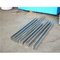 China Low Noise Metal Roof Solar Strut Channel Roll Forming Machine With 5 Ton on sale