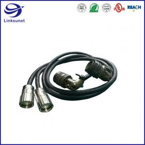 Quality Industrial Robot wiring harness with MIL DTL 26482 Bayonet Lock Connector for sale
