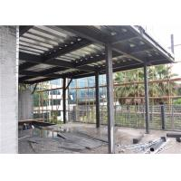 C Section Prefab Steel House For Exhibition Hall Heat Insulation And Preservation