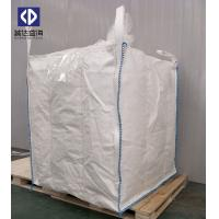 Quality Chemical Jumbo Bulk Bags 1 Ton Container Big Bag Top Spout 40 X 50cm White Color for sale