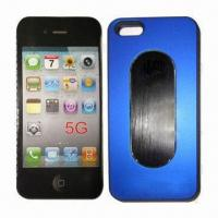 Quality Mobile Phone Cases for iPhone 5, Made of Aluminum, Available in Various Colors for sale