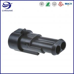 Quality Superseal Receptacle 1 Row Connectors for Powertrain systems wire harness for sale