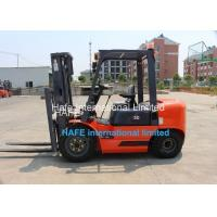 Buy 3T Capacity Diesel Engine Forklift Truck With Soft Bag Clamp / 3 Stage 6m Container Mast at wholesale prices