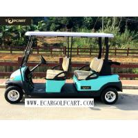 Quality 48V 6 Passenger Electric Golf Cart With Aluminum Chassis For Transportation for sale