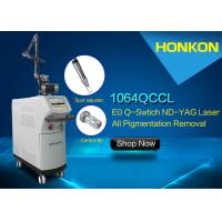 Quality 2000mJ Q Switched Nd YAG Laser Tatoo Removal Machine melasma laser removal for sale