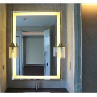 Quality LED glass mirror 5mm thickness CE approved for sale