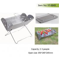 Quality Balcony portable charcoal BBQ grill for sale