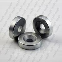 Quality Countersink type Rare Earth Magnet Neodymium magnet With Hole for sale