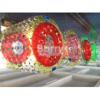 China Outdoor Inflatable Water Toys Aqua Rolling Ball With PVC / TPU Material wholesale