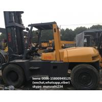 Quality Diesel Second Hand Tcm Forklift Trucks Fd100z8 5.5m Lifting Height Made In Japan for sale