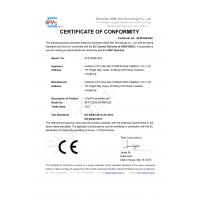Hunan Vict-Sailing Power New Energy Co.,LTD Certifications