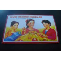 China Nickel Plated Family Hand Embroidery Sewing Needles and hand sewing needle wholesale
