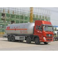 Quality Dongfeng Tianlong 8*4 35CBM LPG gas tank delivery truck, CLW brand bulk lpg gas propane delivery truck for sale for sale