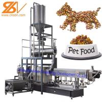 Quality Automatic Pet Food Extruder , Twin Screw Extruder Machine 380v / 50hz for sale