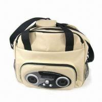 China Picnic Cooler Bag with Radio/Speaker for MP3/MP4 Players, Made of 600D Polyester on sale