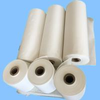 Quality Raw White Polyester Industrial Liner Fabric For Rubber Industry / Conveyor Belt for sale