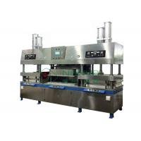 Quality Guaranteed Semi Auto Utensil / Dishware Making Machine for Paper Pulp Molding for sale