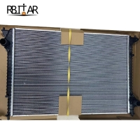 Quality 3w0121253E 3w0121253D Car Coolant Radiator For Bentley Continental Flying Spur for sale