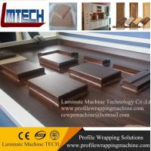 China 2016 new professional automatic vacuum membrane press machine on sale