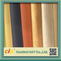Quality Shiny Surface Polyurethane Synthetic Leather For Sofa / Car Seat Cover 0.8-1.2mm Thickness for sale