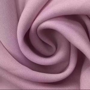 100% Polyester 75D*75D Diamond Hemp Style Plain Dyed Cloth Material Fabric/Chiffon Crepe Fabric