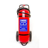 Buy cheap Professional 50Kg Trolley Fire Extinguisher Safe / Reliable For Railway Station from wholesalers