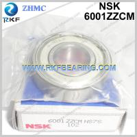 Quality Japan NSK 6001ZZCM 12X28X8 mm Radial Deep Groove Ball Bearing for sale