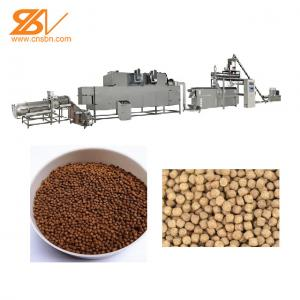 Quality Fully automatic drying floating fish feed machine fish feed extrude machine fish food pellets equipment for sale
