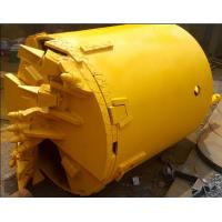 Quality Single/ Double Bottom Rock Drilling BucketsDouble Bottom Drilling Bucket with Bauer Teeth for sale