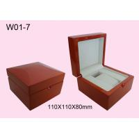 Quality Promotion Personalized Watch Boxes, Glossy Painting Wooden Watch Packaging Box for sale