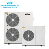 Quality Wholesale industrial air source heatpump dc inverter air to air heat pumps for sale
