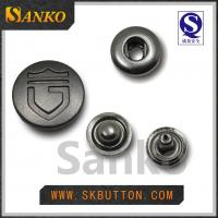 Buy cheap 2016 new design metal anti silver snap button for garments in high quality from wholesalers