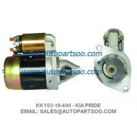 China STARTER KKY02-18-400 KIA PRIDE STARTER FORD ASPIRE 17010 on sale