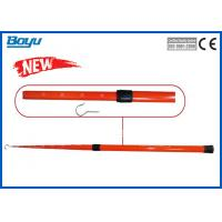 Quality 1.6 Meter High Voltage Retractable Measuring Stick Insulated Measuring Pole for sale