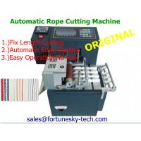 China Automatic Vertical Rope Cutting Machine LL-100/ Hot Cutting Machines on sale
