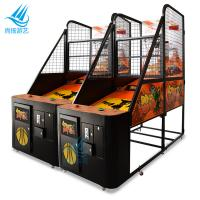 Quality Commercial Arcade Basketball Game Machine Electronic Coin Operated Attractive LED Light for sale