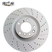 Quality Front Brake Disc oem A1664210512 1664210512 1644210712 for benz X166 for sale