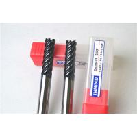 Quality Multi Flute High Performance End Mills , Dia 8 MM Milling Machine Cutting Bits for sale
