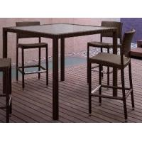 Quality Foshan Outdoor Furniture Bar Set Table and Chair (BZ-B006) for sale