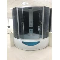 Buy cheap 150 X 150 X 220cm Complete Shower Enclosures Steam Room Double Shower Cabin With Tray from wholesalers